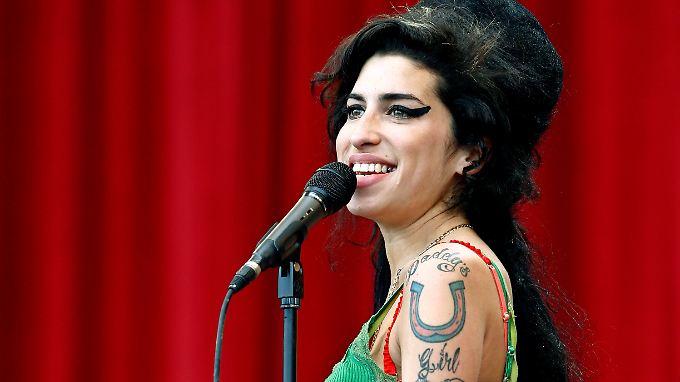 Eine Frau der Extreme: Amy Winehouse.