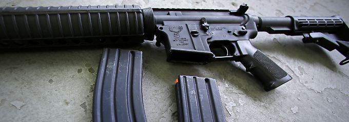 Der Gesetzentwurf zur Verschärfung des Waffenrechts in den USA liegt vor.