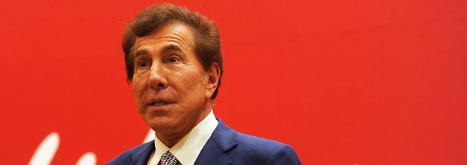 Lässt seine Villa von der Firma bezahlen: Steve Wynn.