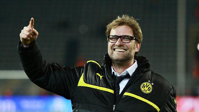 Der Strahlemann des deutschen Fußballs: Jürgen Klopp