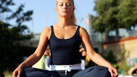Meditation: Auch so lässt sich ein veränderter Bewusstseinszustand erreichen.