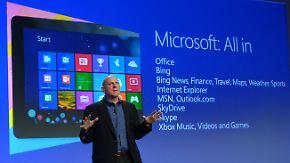 Windows 8 doch erfolgreich: Microsoft steigert Gewinn