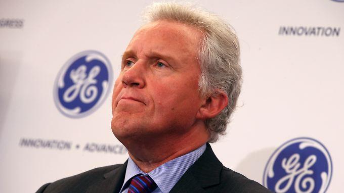 Bei GE läuft es besser als bei anderen großen US-Unternehmen. CEO Jeff Immelt kann  zufrieden sein.