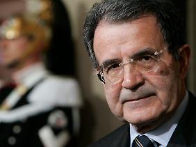 Zur Mehrheit fehlten Prodi 109 Stimmen.