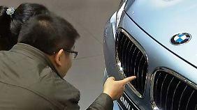 Shanghai Motor Show 2013: Deutsche Autobauer fahren kräftig auf
