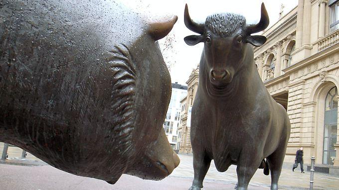 Die Bullen preschen am deutschen Aktienmarkt vor.
