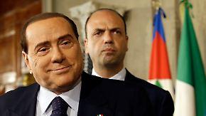 Hoffnung auf Regierungsbildung: Ohne Berlusconi läuft nichts