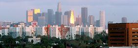 Blick auf Los Angeles: Ein Gericht hat die Klage der Stadt gegen die Deutsche Bank zugelassen.