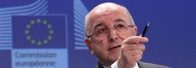 EU-Wettbewerbskommissar Almunia will bis Jahresende Ergebnisse im Libor-Verfahren vorlegen.