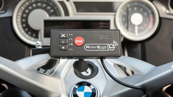 Endlich gibt es auch für Motorradfahrer ein Notrufsystem.