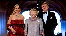 Abschied via TV-Ansprache: Beatrix dankt Niederländern