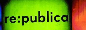 """""""Die re.publica"""" wird seit 2007 jährlich in Berlin veranstaltet. Hier dreht sich alles um das Web 2.0, speziell soziale Medien, Webblogs und die digitale Gesellschaft."""