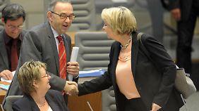 Abschied von Hannelore Kraft? Noch ist Norbert Walter-Borjans Finanzminister in NRW.