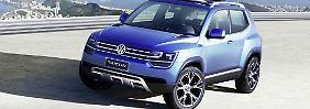 Den Taigun, die SUV-Version des Up, soll es ab 2015 in Europa geben.