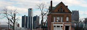 """Zahlungen an Gläubiger gestoppt: Detroit """"praktisch bankrott"""""""