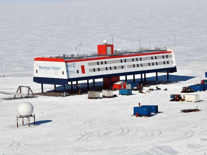 Seit 29 Jahren werden die antarktischen Temperaturen in der Neumayer-Station dokumentiert.