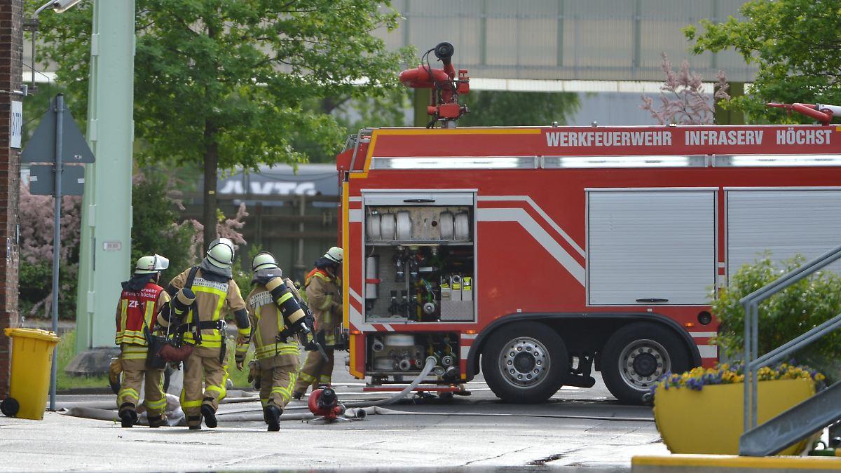 Chemieunfall Frankfurt