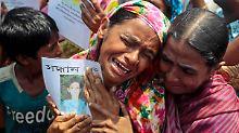 Konsequenz aus Unglück in Bangladesch: Textil-Konzerne wollen Arbeiter schützen