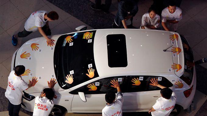 Chinas rettende Hand: VW kann im Reich der Mitte weiter punkten.