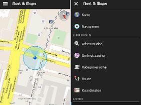 GPS Navigation & Maps ist eine der besten Offline-Navigations-Apps im Play Store.