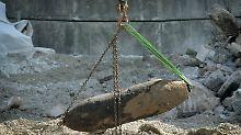 Weltkriegsüberreste im Kindergarten: Experten finden 45 Kilo Munition und Waffen