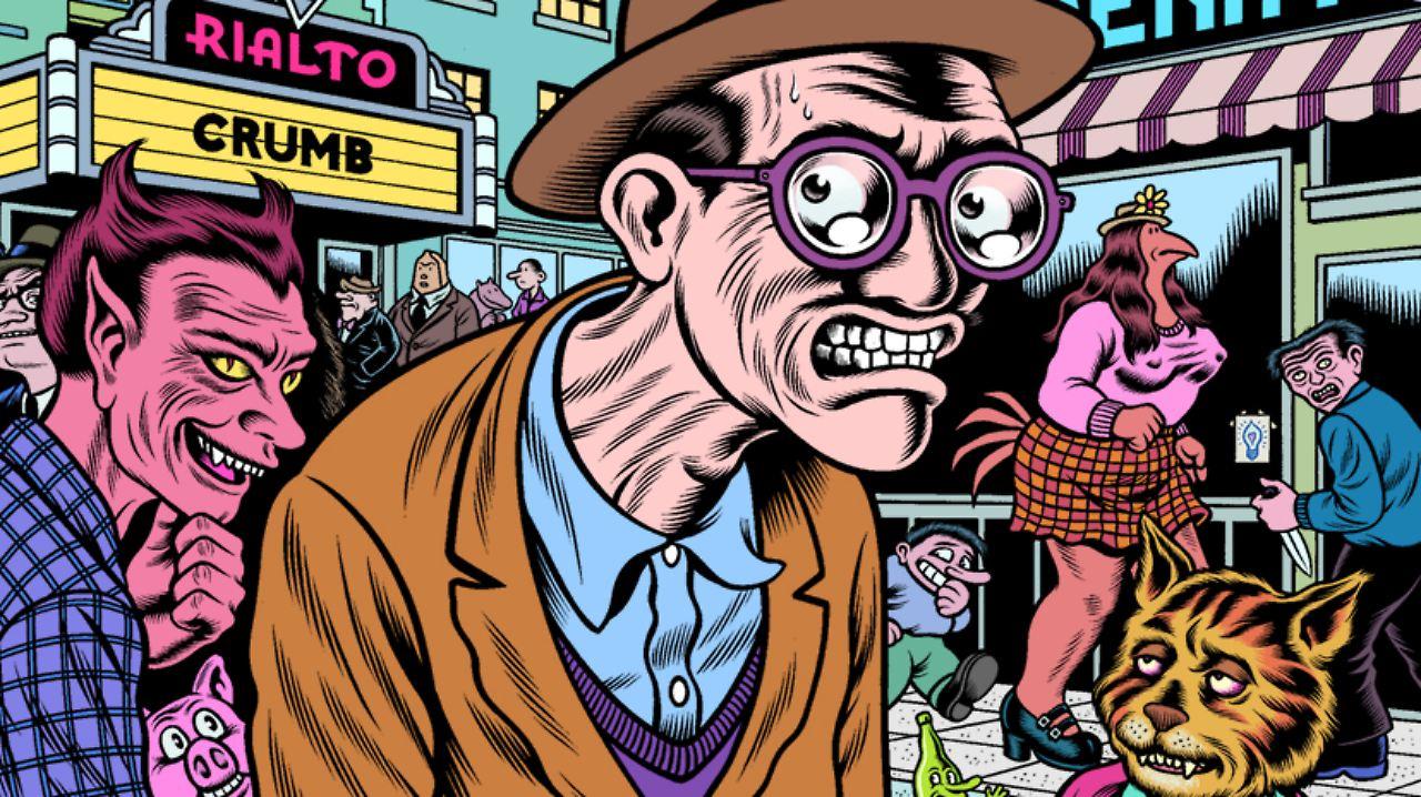 Eine Comiclegende besucht Deutschland: Sex, Drugs und Robert Crumb ...