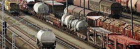 Deutlich weniger Güterzüge rollen in diesem Jahr durch das Land.