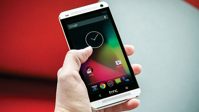 Pures Android steht dem HTC One gut.