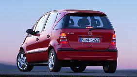 Mit den aktuellen Trend-Autos kann die alte A-Klasse nicht mithalten.