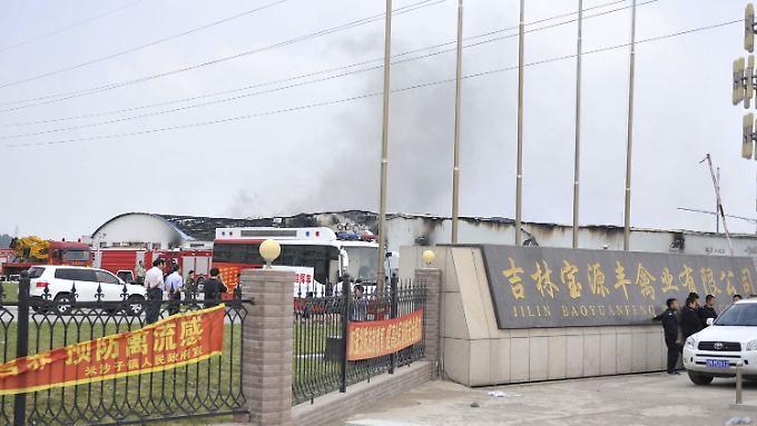 In China sind immer wieder tragische Unfälle in Fabriken zu beklagen.