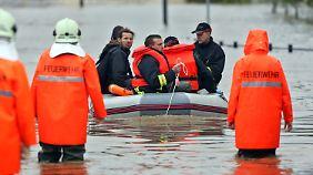 Katastrophenalarm ausgerufen: Grimma kapituliert vor den Wassermassen