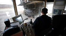Über 6 Kubikmeter kann jede Schaufel der größten Schaufelradbagger aufnehmen.
