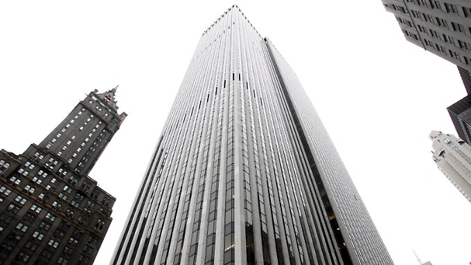 Blick auf das GM-Building, momentan das teuerste Bürohochhaus der USA