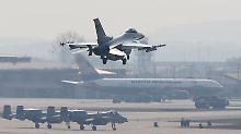 Kampfjets zu Militärübung nach Jordanien: USA verlegen F-16 in syrisches Nachbarland