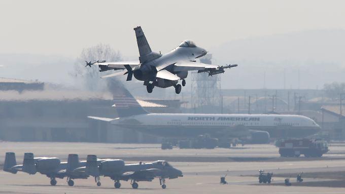 Die F-16-Jets könnten auch nach der Übung in Jordanien bleiben, so die USA.