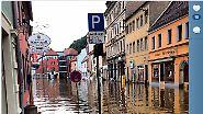 Die Flut in schnellen Bildern: Menschen teilen ihr Leid auf Instagram