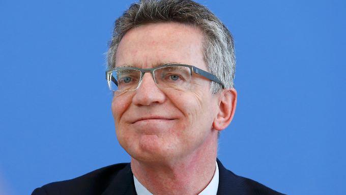 Seit März 2011 Bundesverteidigungsminister: Thomas de Maizière.