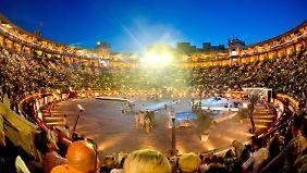 """Tolle Arena, miese Show: """"Wetten, dass..?"""" gastierte wieder einmal auf Mallorca."""