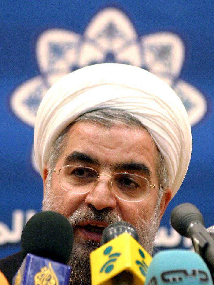 Irans Präsident Ruhani.