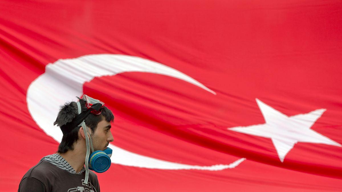 Zurück zum Taksim-Platz