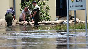 Kritik am Hochwasser-Krisenstab: Kleine Orte fühlen sich im Stich gelassen