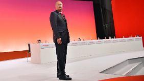 Kanzlerkandidat unter Druck: Wahlkampf belastet Steinbrück