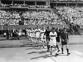 Das Meisterschaftsfinale in Berlin war immer auch ein politisches Zeichen.