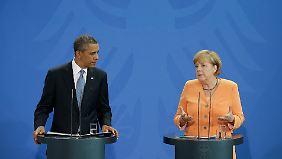 Obama und Merkel: Endlich gute Freunde?