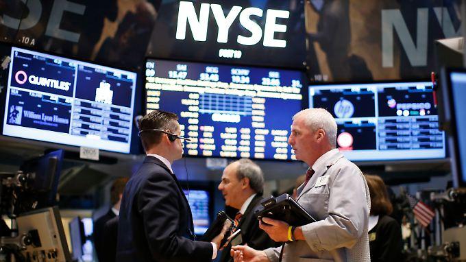Fed bestimmt die Richtug an der Wall Street.