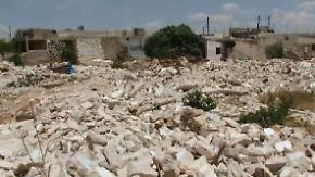 Täglich fallen Bomben: Verzweifelte Syrer trotzen dem Krieg