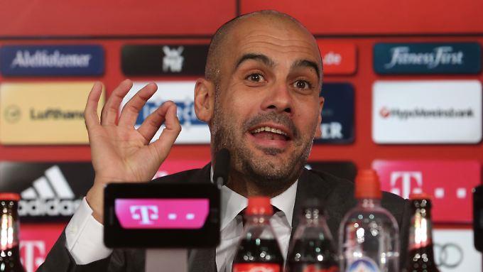 """""""Die Mannschaft ist gut!"""", wiederholt Guardiola immer wieder."""