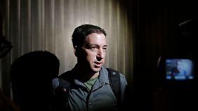 """Glenn Greenwald arbeitet für den """"Guardian"""". Er wurde von Snowden im Februar kontaktiert."""
