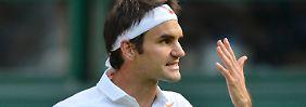 Federer kann es nicht fassen: Raus gegen den 116.