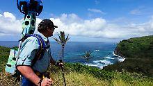 Wer möchte für Street View wandern?: Google verleiht Rucksäcke